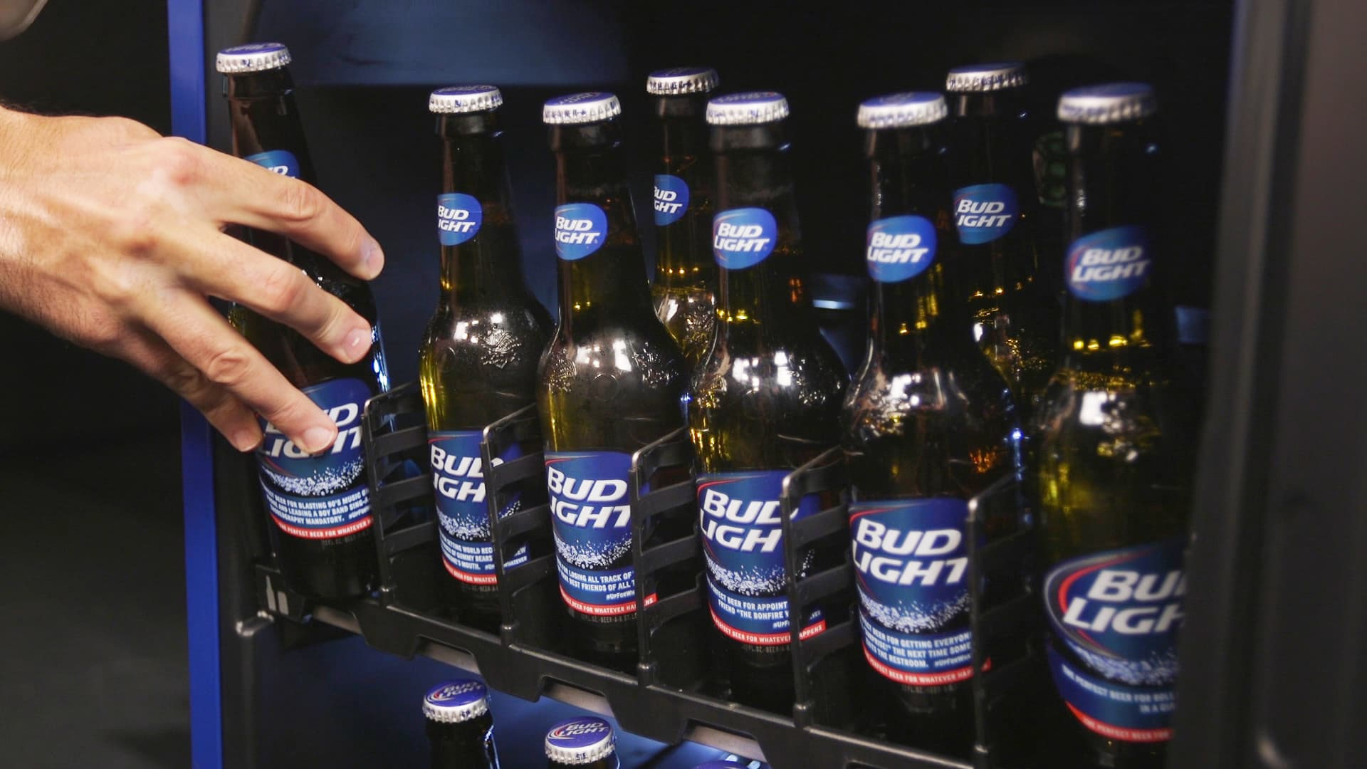 Out of beer? Bud Light's smart fridge will tell you